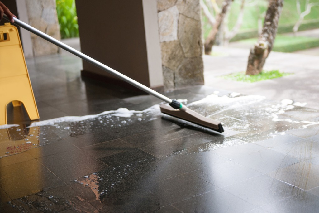 Natural Stone Floor Cleaning Wellington